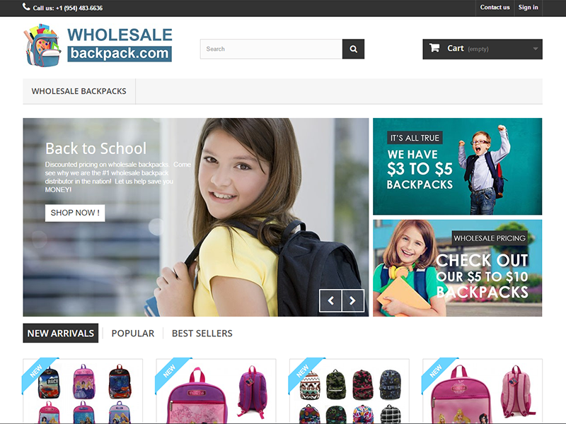 Bulk Wholesale Backpacks for School Children and Adults