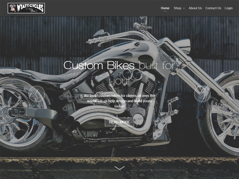 Custom Motorcycle Builds and Products in Sidney IL