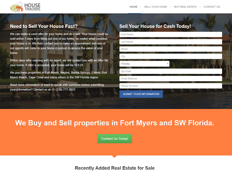 House Traders - Buy and Sell Properties in SW Florida